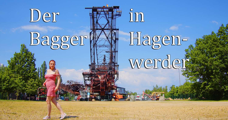 Schaufelradbagger in Hagenwerder
