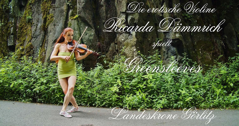 """Die erotische Violine mit """"Greensleeves"""""""